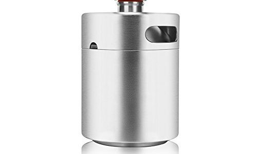 64-Ouncer-Mini-Keg-Style-Growler-Stainless-Steel-Beer-Barrel-Holds-Beer-Double-Handles-Silver-by-HAVEGET--0